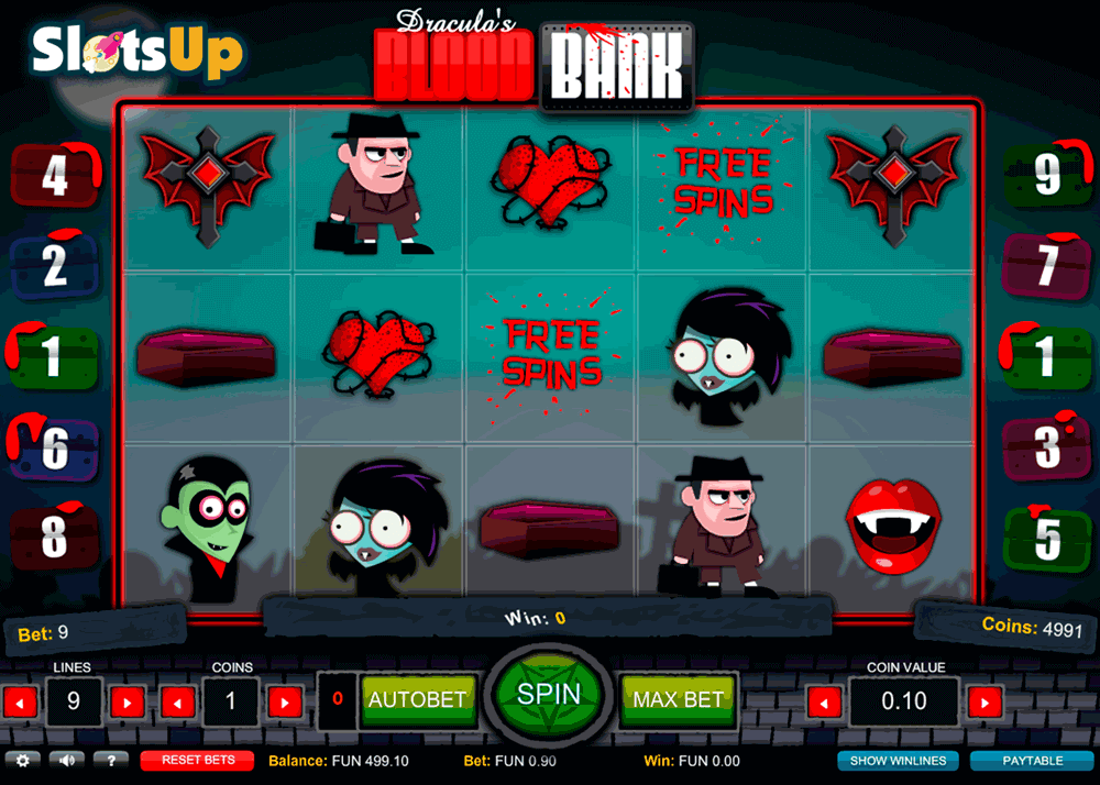 House of Dracula Slot - Play Online for Free Money