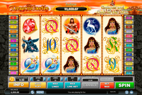 dragon castle habanero slot machine