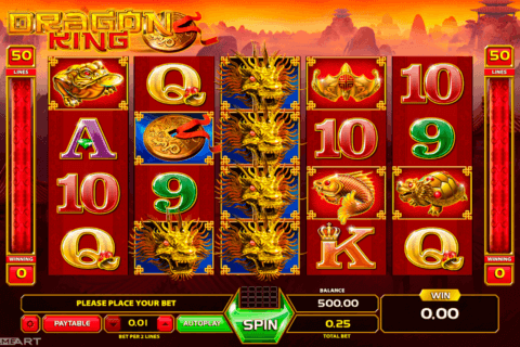 DRAGON KING GAMEART SLOT MACHINE