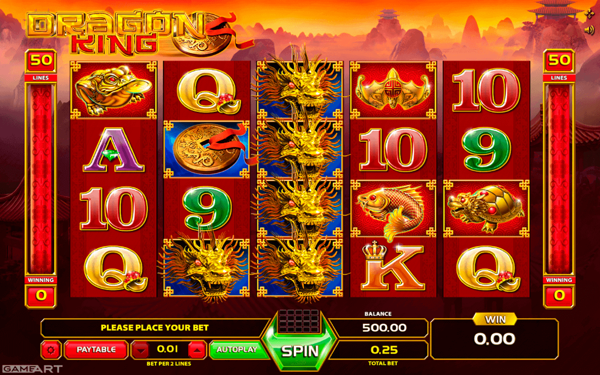 online slot machine game king casino