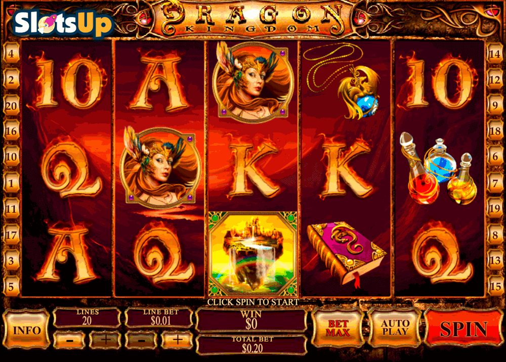 Play Dragon Kingdom Slots Online at Casino.com NZ