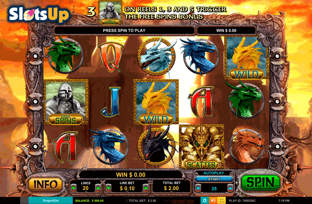 DRAGON SLOT LEANDER CASINO SLOTS