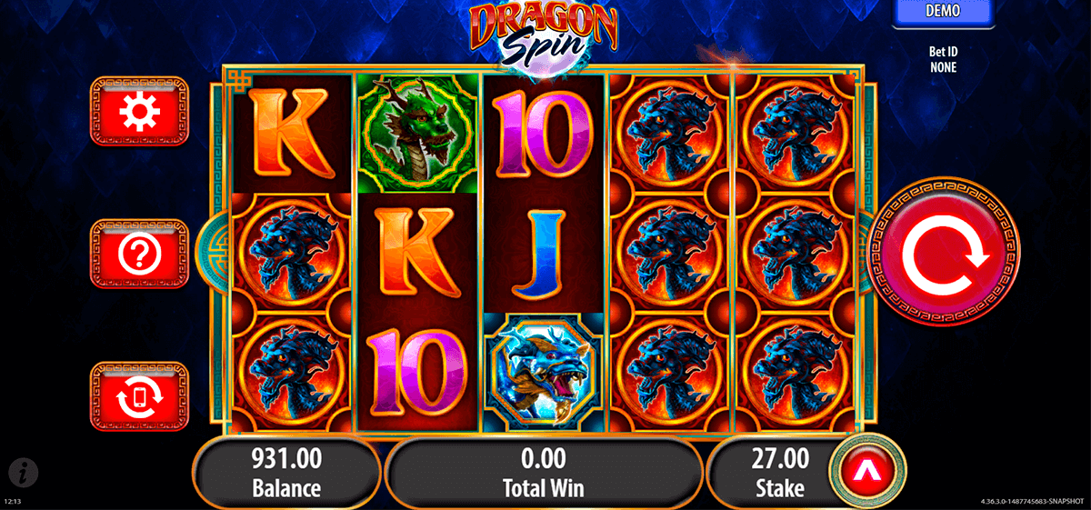 Dragon Spin slot - Casumo Casino