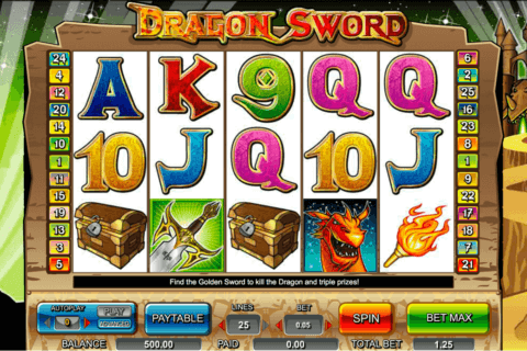 DRAGON SWORD AMAYA CASINO SLOTS