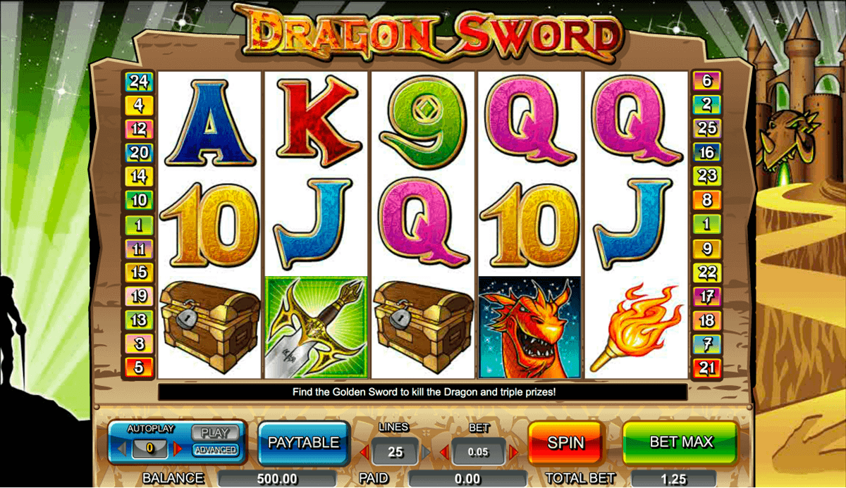 Dragon Sword Slot Machine - Play Online Video Slots for Free