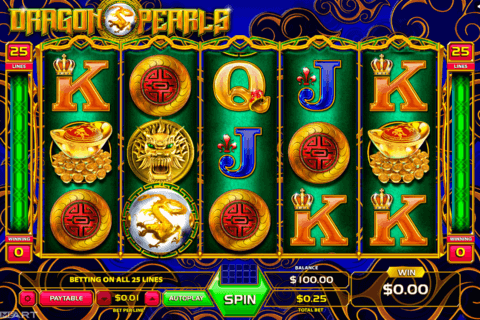DRAGONS AND PEARLS GAMEART SLOT MACHINE