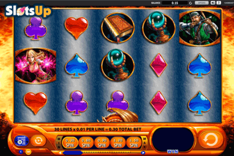 DRAGONS INFERNO WMS CASINO SLOTS