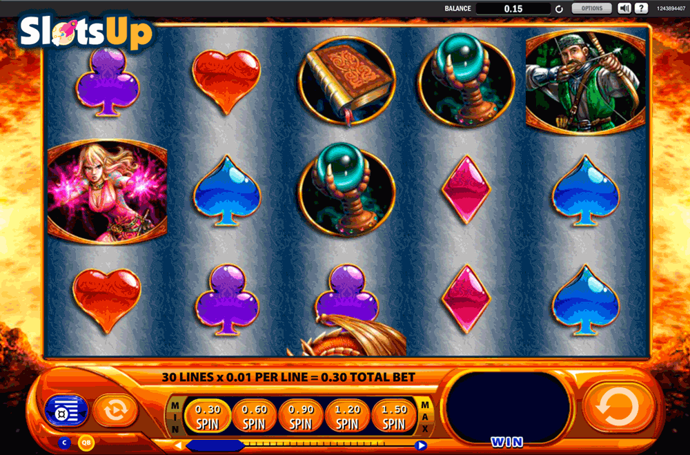Wild Inferno Slots - Play for Free & Win for Real