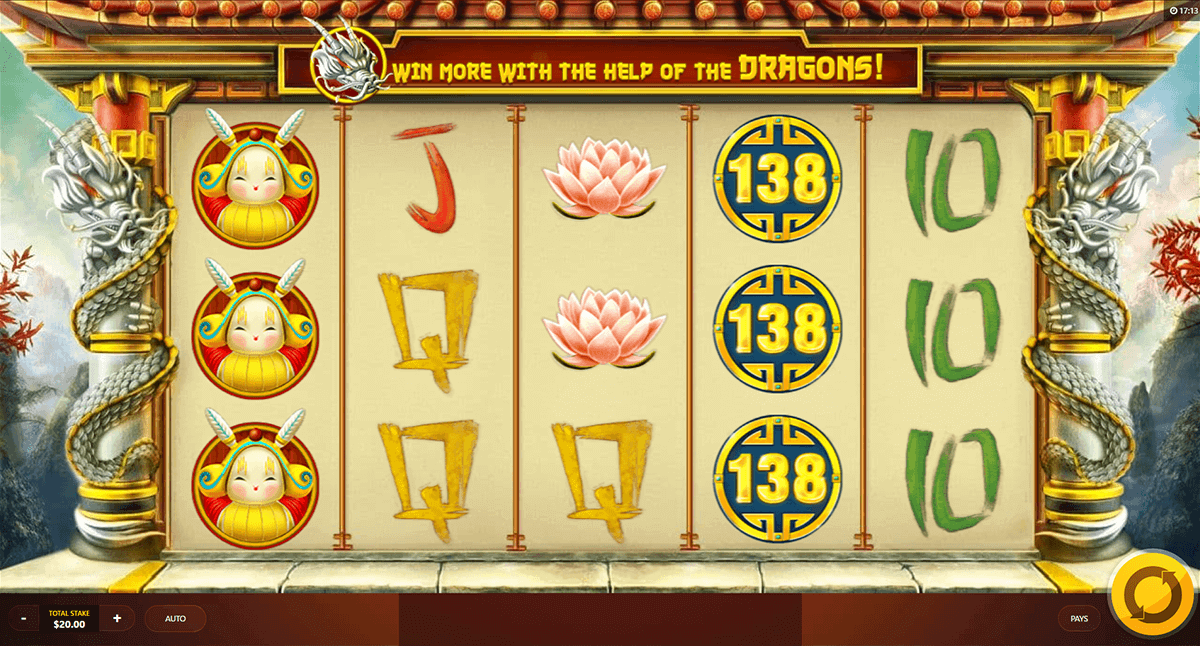 DRAGONS LUCK RED TIGER CASINO SLOTS