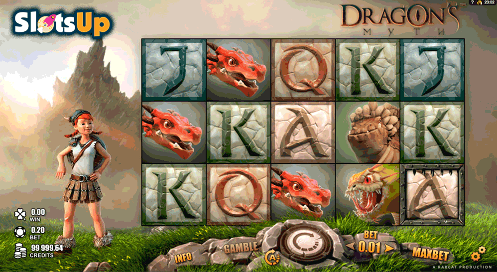 DRAGONS MYTH RABCAT CASINO SLOTS