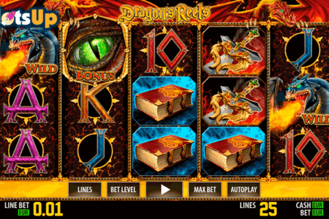 DRAGONS REELS HD WORLD MATCH CASINO SLOTS