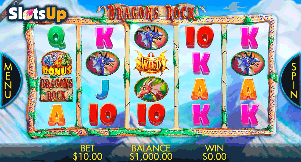 Dragons Rock™ Slot Machine Game to Play Free in Genesis Gamings Online Casinos