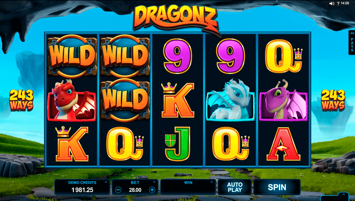 DRAGONZ MICROGAMING CASINO SLOTS