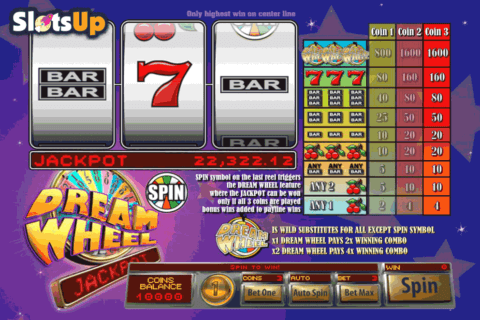 DREAM WHEEL JACKPOT SAUCIFY CASINO SLOTS