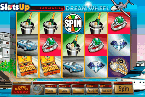 DREAM WHEEL SAUCIFY CASINO SLOTS