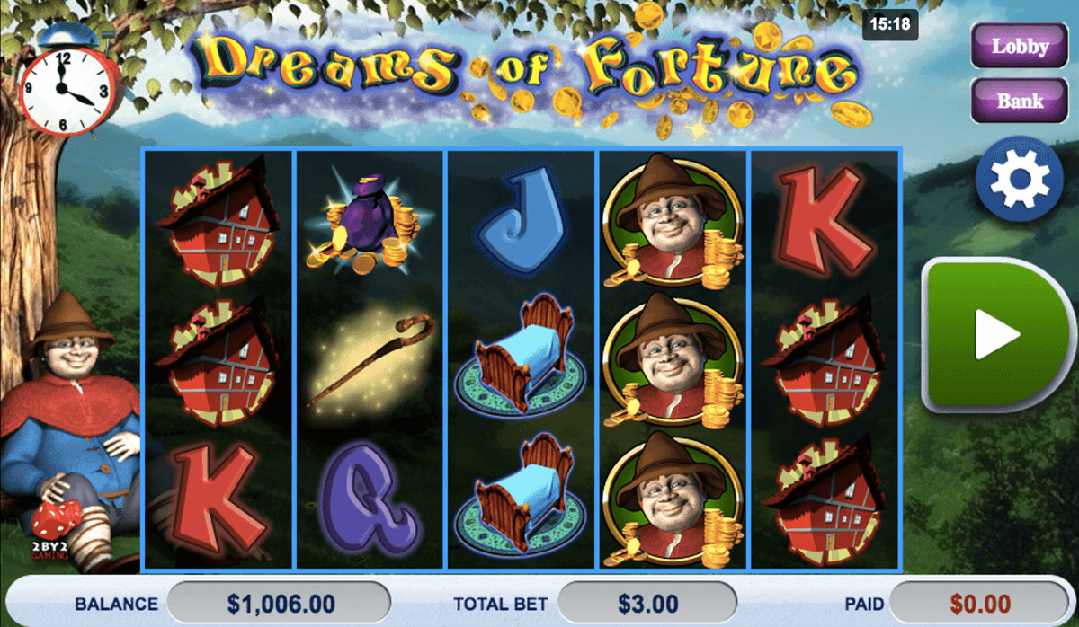 Dreams of Fortune Slot Machine - Play Online for Free