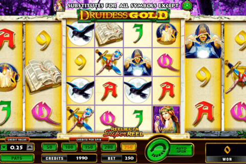 DRUIDESS GOLD AMAYA CASINO SLOTS