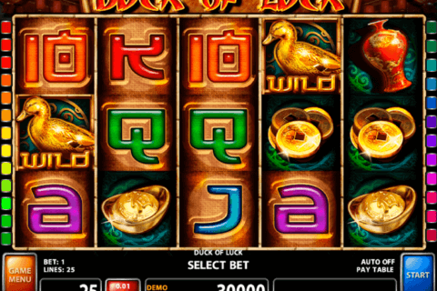 DUCK OF LUCK CASINO TECHNOLOGY SLOT MACHINE