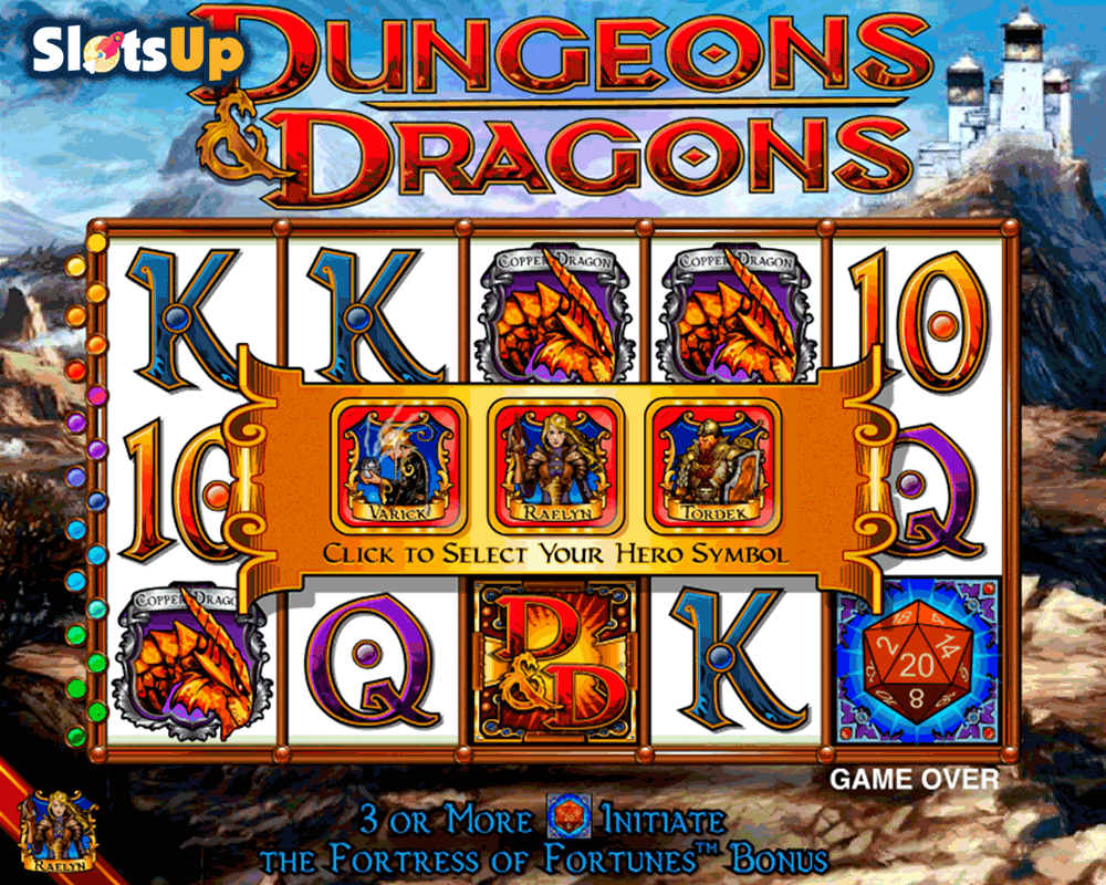 dungeons and dragons igt casino slots