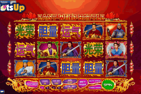 East Wind Battle Slot - Review and Free Online Game