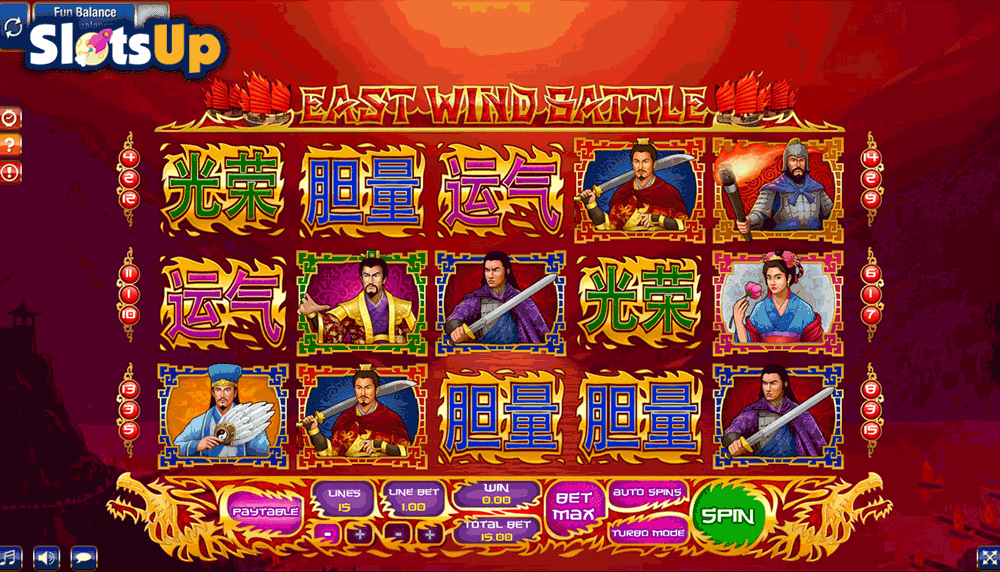 EAST WIND BATTLE GAMESOS CASINO SLOTS