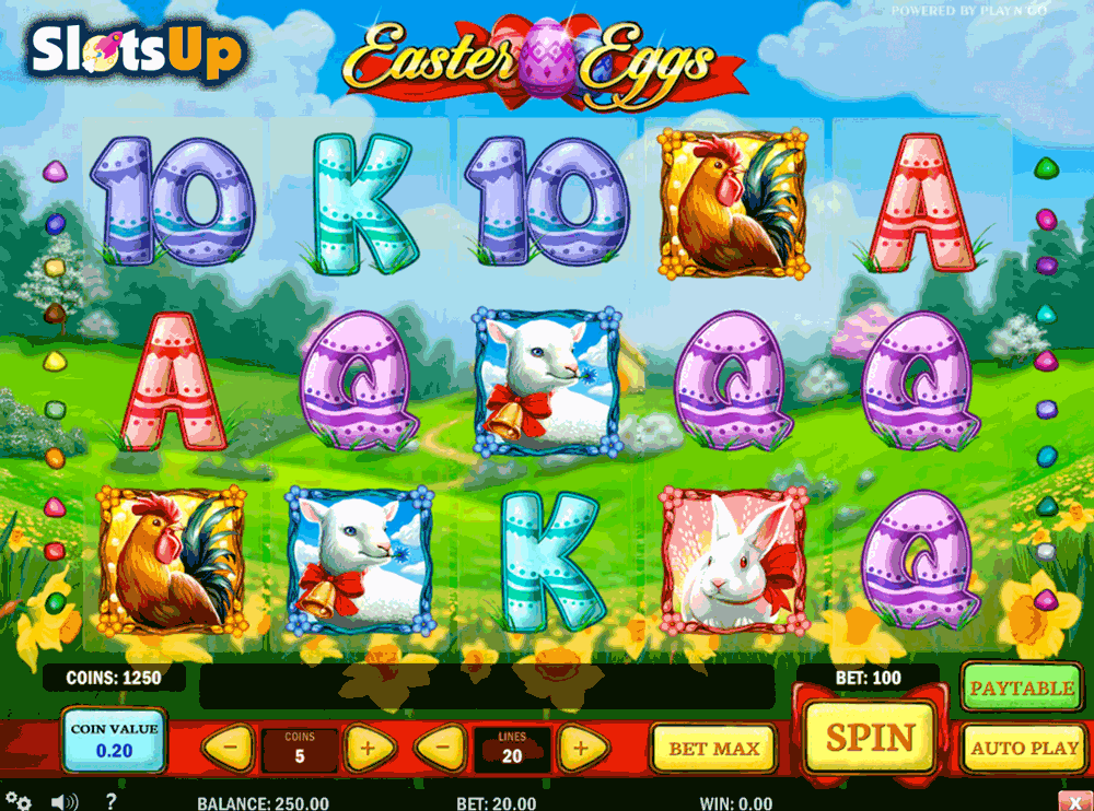 Easter Eggs Slot Machine - Play this Game for Free Online