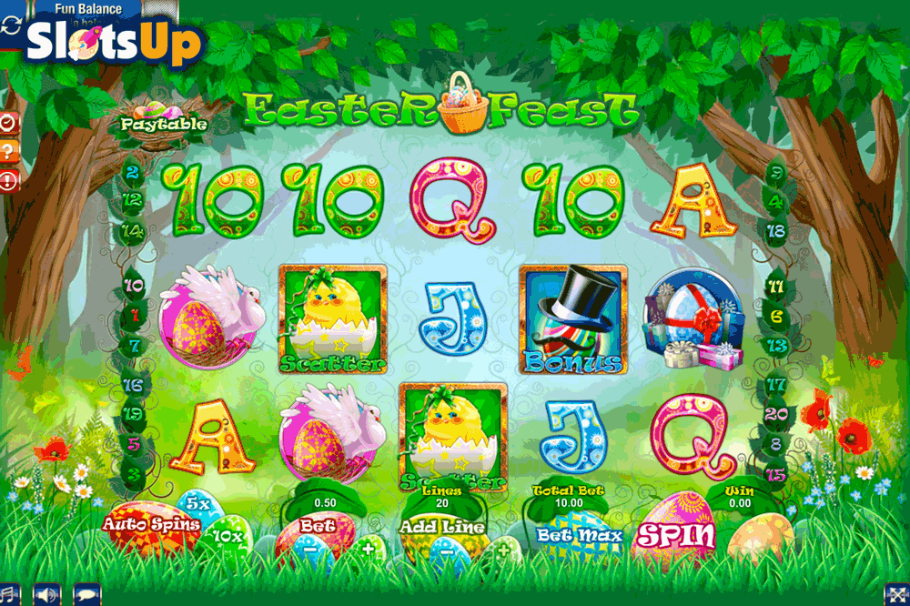 Easter Feast Slot Machine - Play Online for Free Money