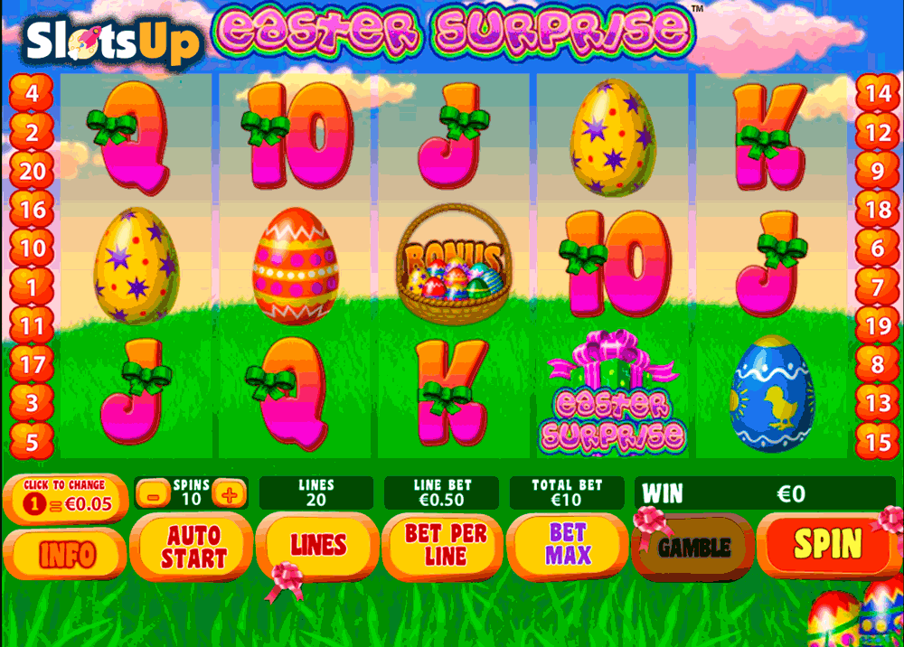 EASTER SURPRISE PLAYTECH CASINO SLOTS