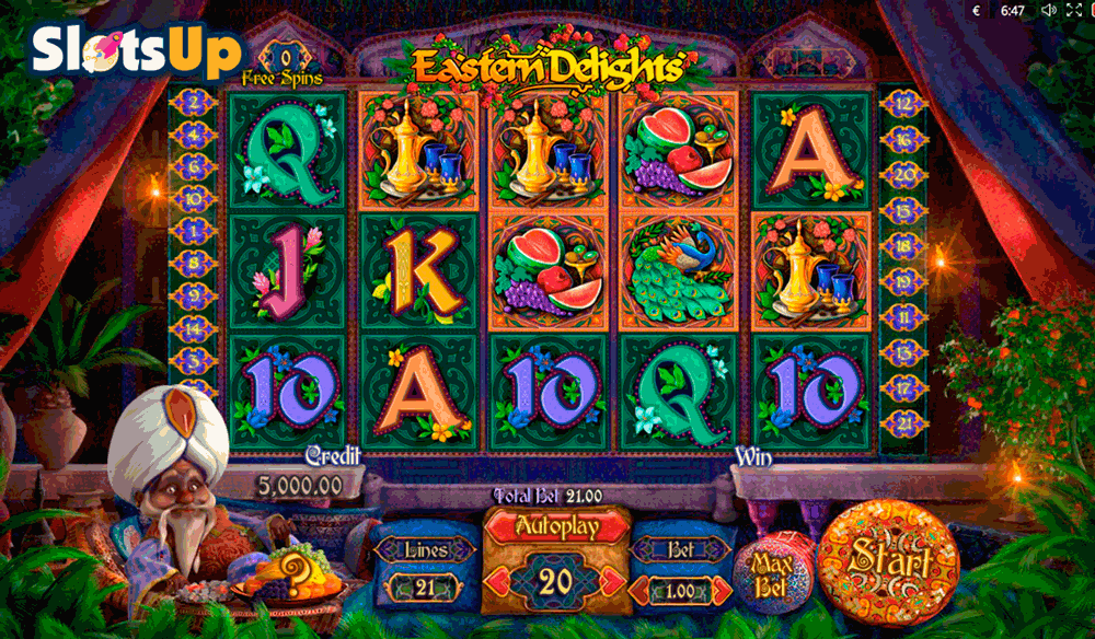 eastern delights playson casino slots