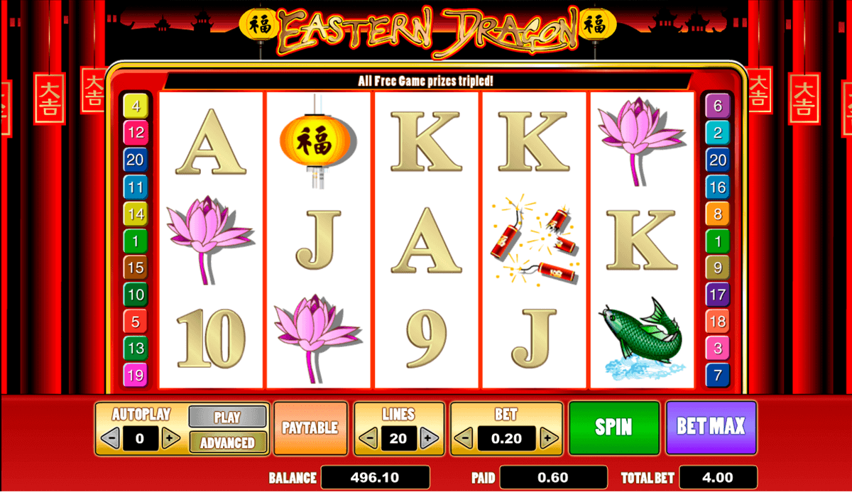 EASTERN DRAGON AMAYA CASINO SLOTS