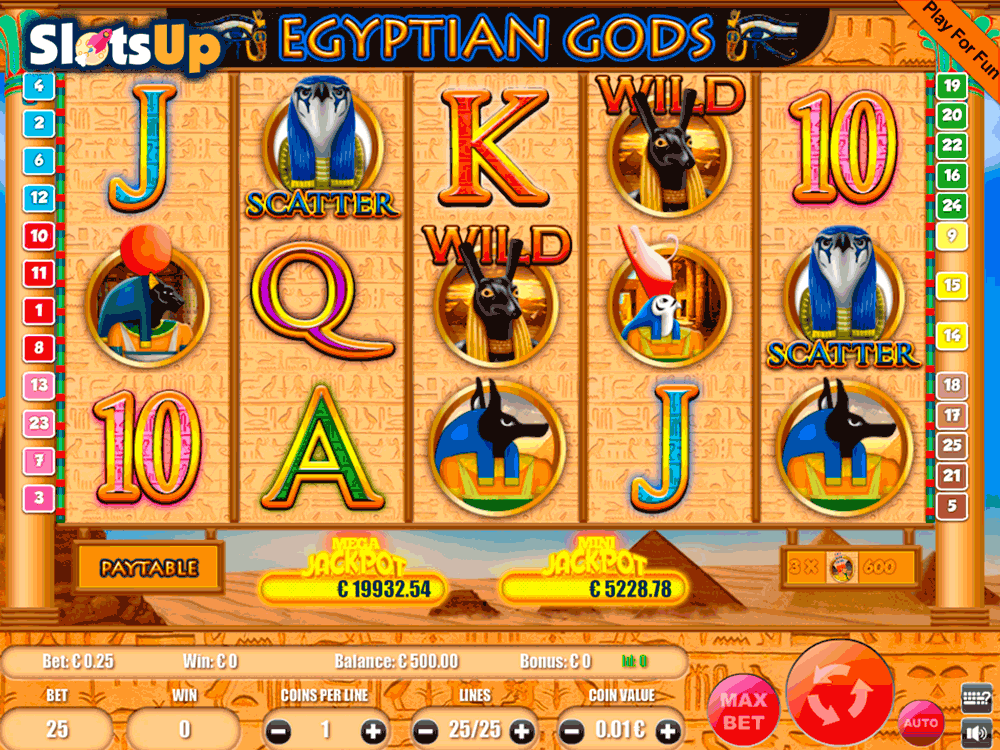 Egypt Gods Slots - Try this Online Game for Free Now