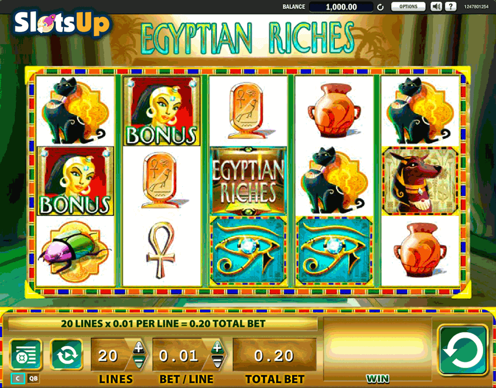 Wonders of Egypt Slot Machine - Play for Free & Win for Real