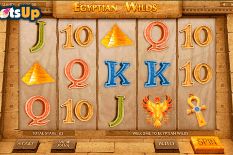 EGYPTIAN WILDS CAYETANO CASINO SLOTS