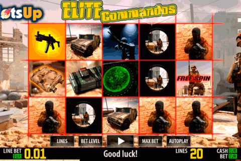 ELITE COMMANDOS HD WORLD MATCH CASINO SLOTS