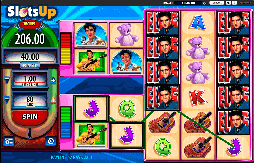 free casino games for fan elvis