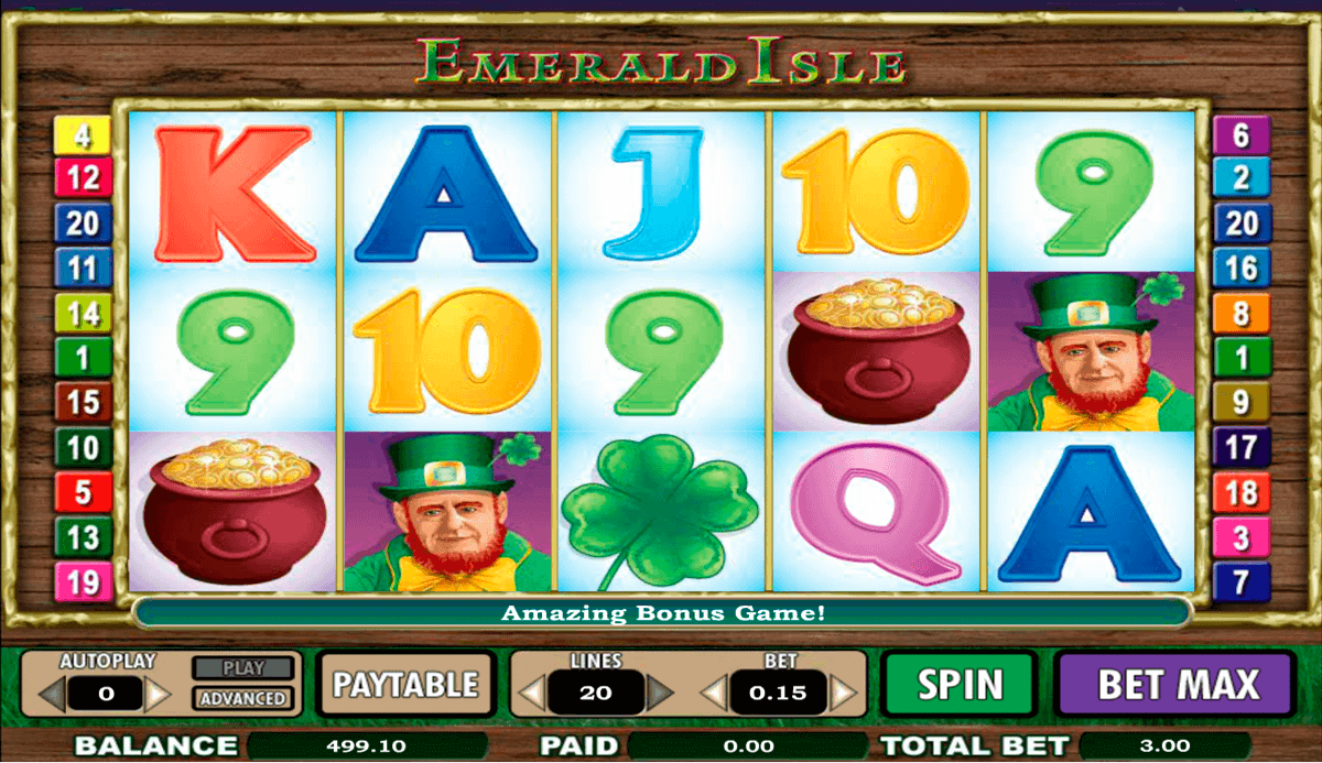 Emerald Isle Slots - Play the Online Version for Free