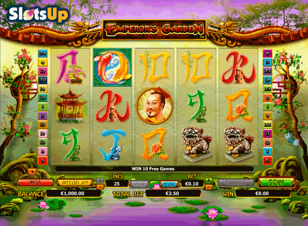 Emperors Delight Slot Machine - Play Online for Free