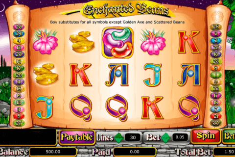 enchanted beans amaya casino slots