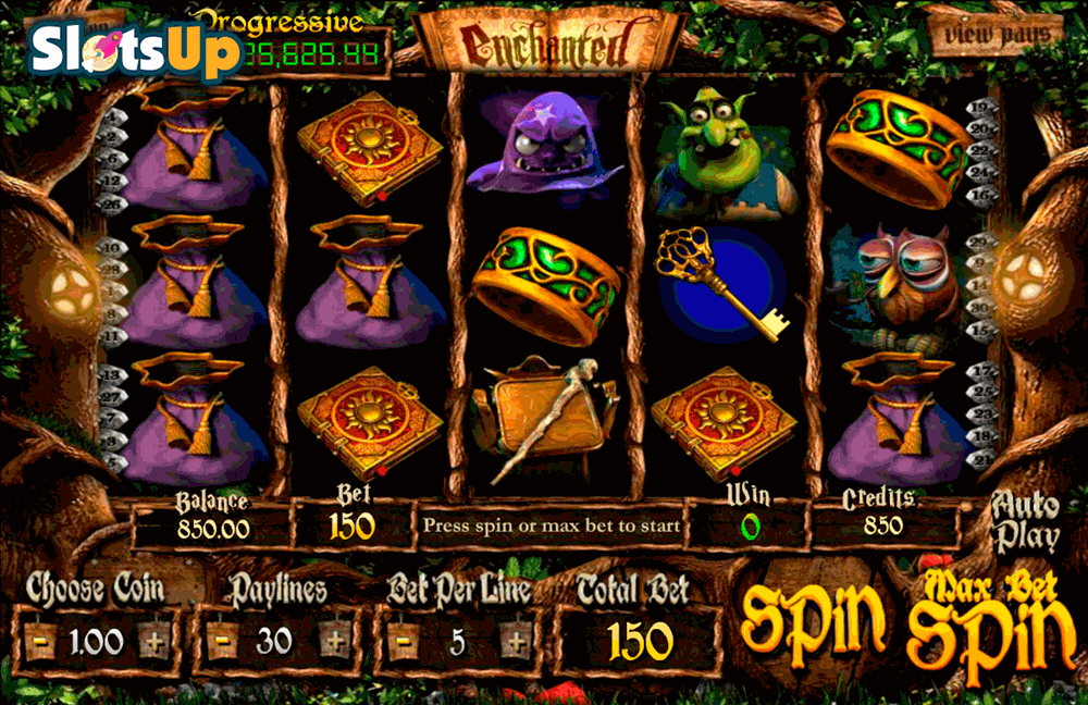 ENCHANTED BETSOFT CASINO SLOTS