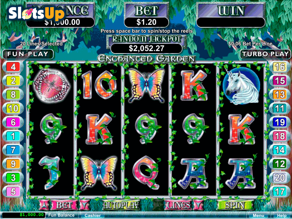 Wondrous Garden Slot Machine - Play it Now for Free