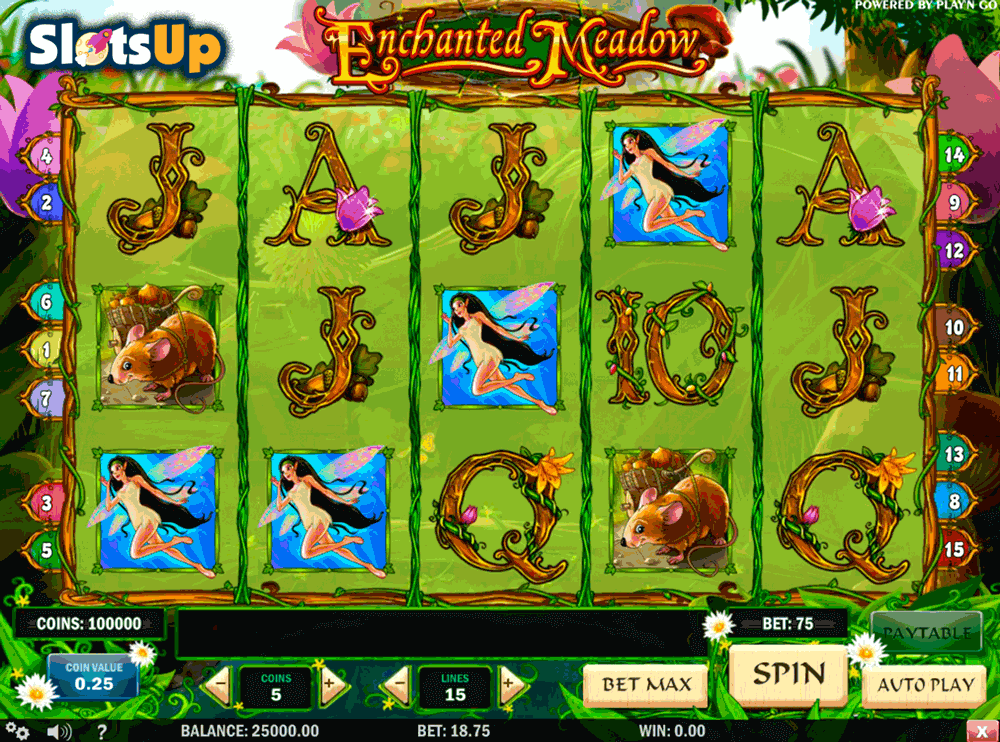 Enchanted Meadow Slot Machine Online ᐈ Playn Go™ Casino Slots