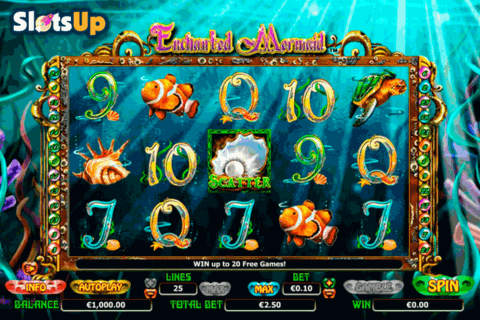 enchanted mermaid nextgen gaming casino slots 480x320