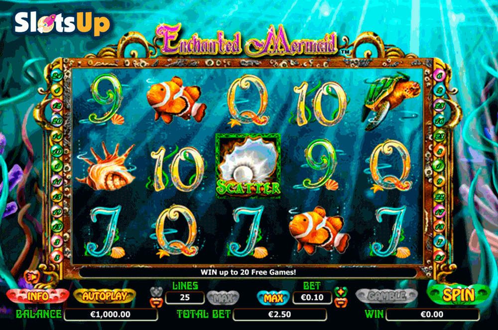 Enchanted Mermaid online slot - spil online gratis i dag