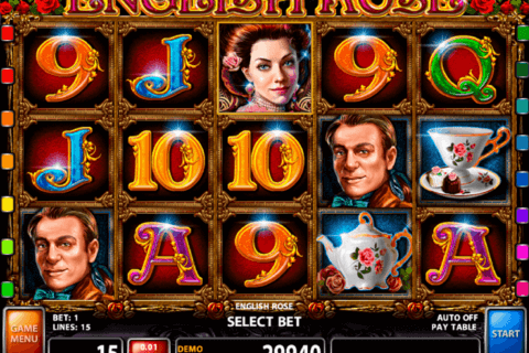 ENGLISH ROSE CASINO TECHNOLOGY SLOT MACHINE