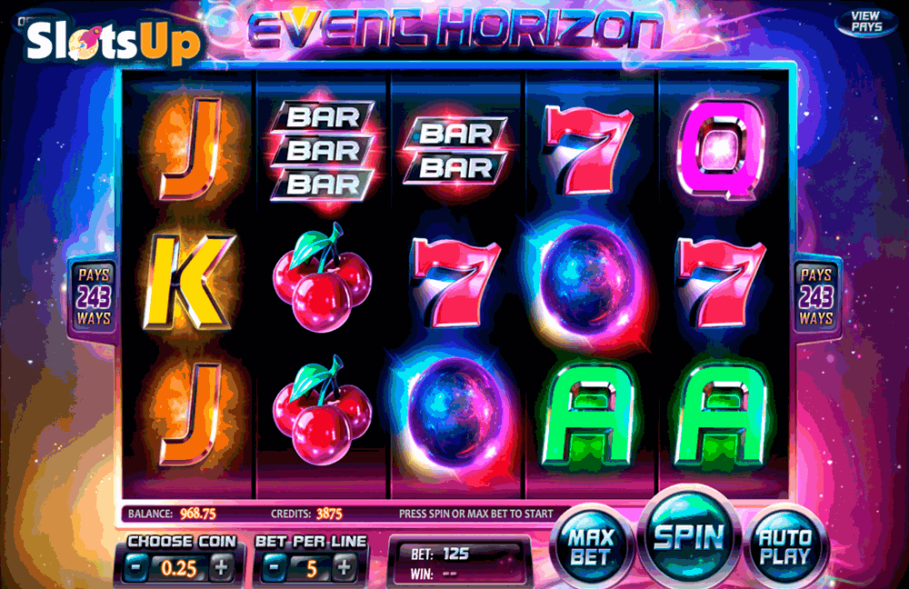 event horizon betsoft casino slots