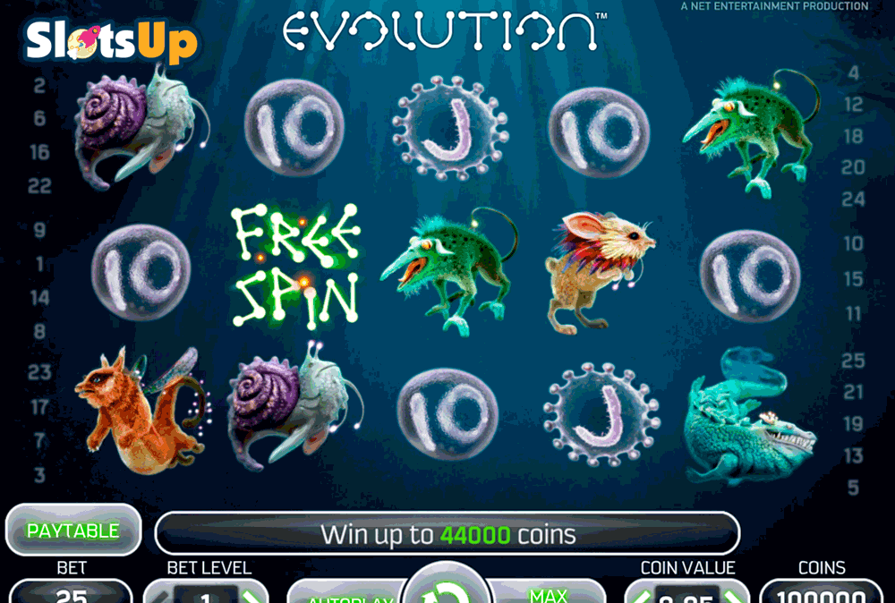 EVOLUTION NETENT CASINO SLOTS