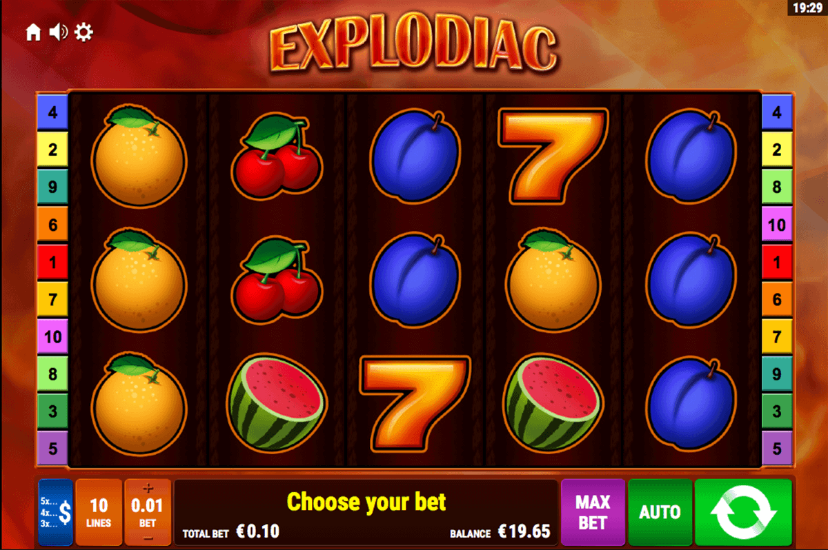 Explodiac™ Slot Machine Game to Play Free in Bally Wulffs Online Casinos