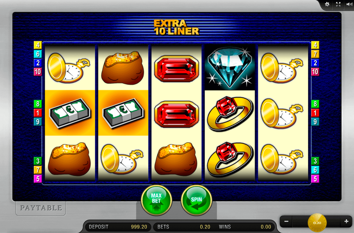 Extra 10 Liner Slot Machine - Play Online for Free Instantly
