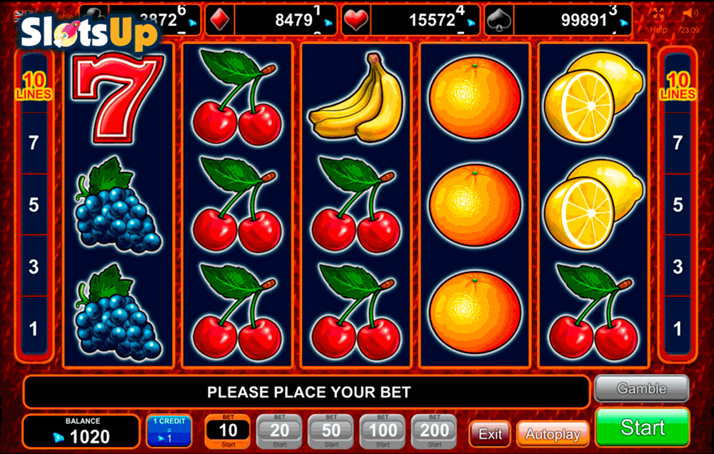 Super Fruit Slot Machine Review & Free Instant Play Game
