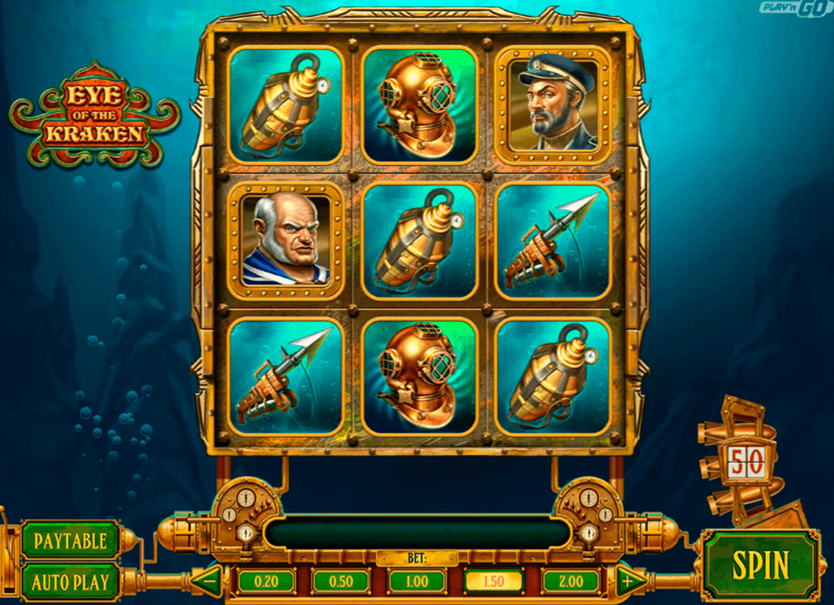 eye of the kraken playn go casino slots